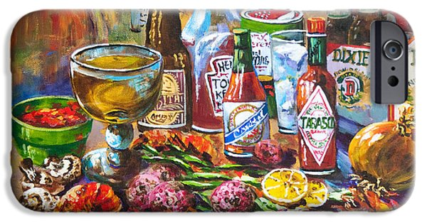 Food And Beverage iPhone 6s Case - La Table De Fruits De Mer by Dianne Parks