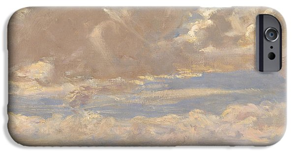 Lady Astor Playing Golf At North Berwick IPhone 6s Case by Sir John Lavery
