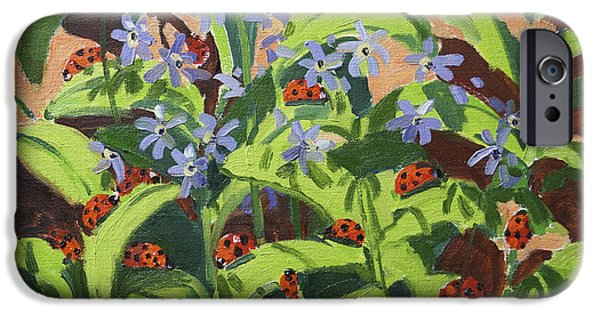 Ladybirds IPhone 6s Case by Andrew Macara