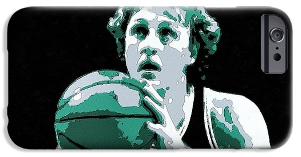 Larry Bird Poster Art IPhone 6s Case by Florian Rodarte