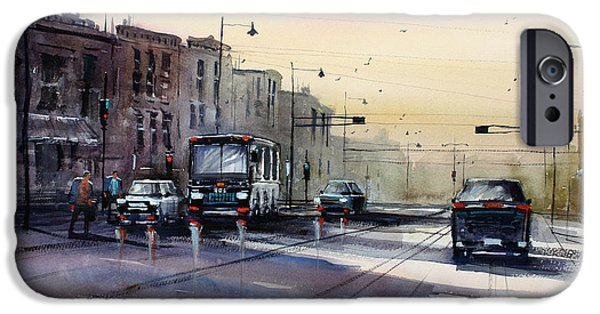 Last Light - College Ave. IPhone 6s Case by Ryan Radke