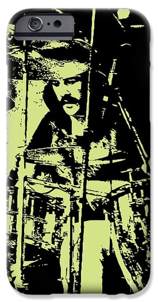 Drum iPhone 6s Case - Led Zeppelin No.05 by Geek N Rock