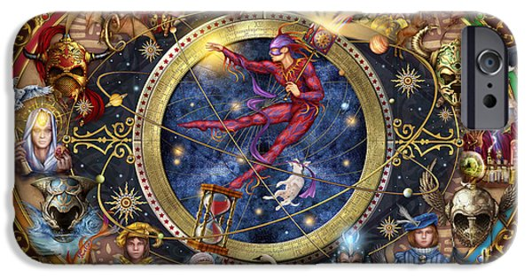 Legacy Of The Divine Tarot IPhone 6s Case by Ciro Marchetti