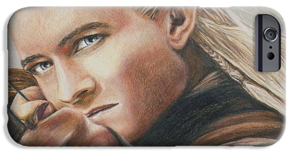 Legolas / Orlando Bloom IPhone 6s Case by Christine Jepsen