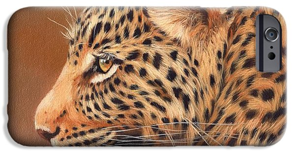 Leopard Portrait IPhone 6s Case