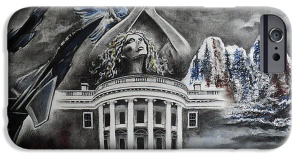 Whitehouse iPhone 6s Case - Let Freedom Ring by Carla Carson