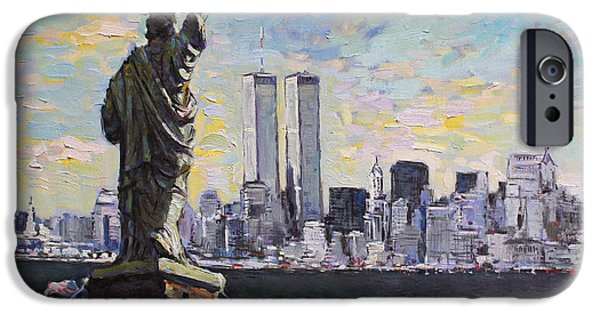 Statue Of Liberty iPhone 6s Case - Liberty by Ylli Haruni