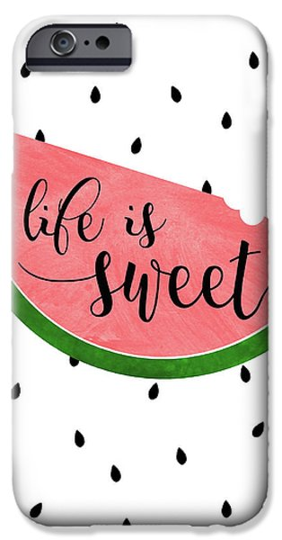 Life Is Sweet - Watermelon IPhone 6s Case