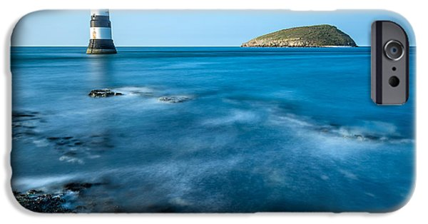 Puffin iPhone 6s Case - Lighthouse At Penmon Point by Adrian Evans