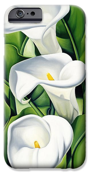 Lily iPhone 6s Case - Lilies by Catherine Abel