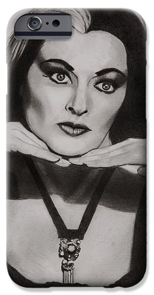 Mockingbird iPhone 6s Case - Lily Munster by Brian Broadway