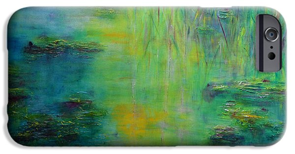 Lily Pond Tribute To Monet IPhone 6s Case