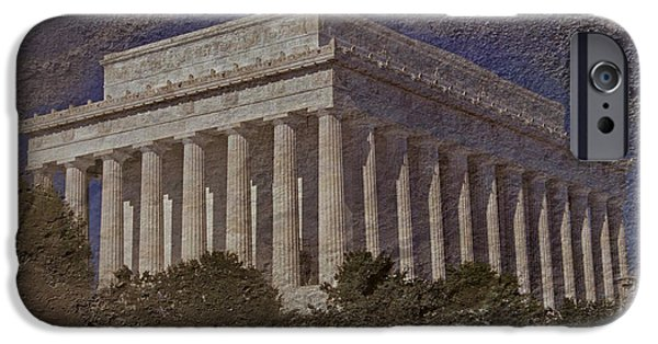Whitehouse iPhone 6s Case - Lincoln Memorial by Skip Willits