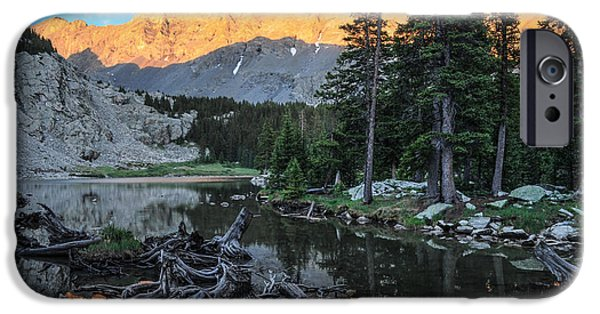 Little Bear Peak And Lake Como IPhone 6s Case by Aaron Spong