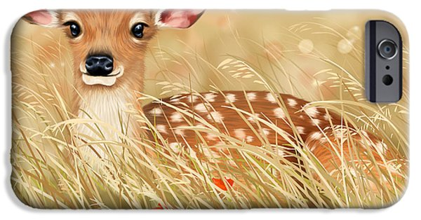 Little Fawn IPhone 6s Case by Veronica Minozzi