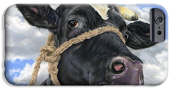 Cow iPhone 6s Case - Lola by Sarah Batalka