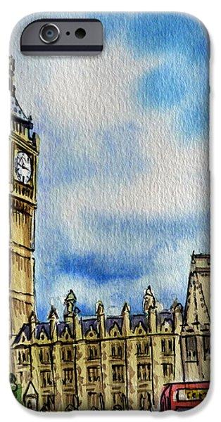 London England Big Ben IPhone 6s Case by Irina Sztukowski
