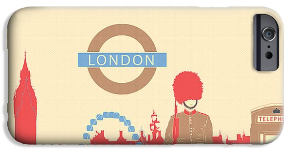 London England IPhone 6s Case by Famenxt DB