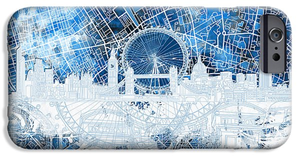 London Skyline Abstract 13 IPhone 6s Case