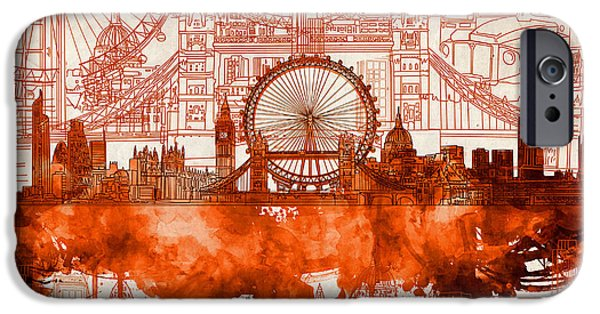 London Skyline Old Vintage 2 IPhone 6s Case