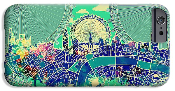 London Skyline Vintage 2 IPhone 6s Case