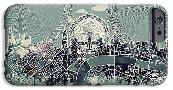 London Skyline Vintage IPhone 6s Case
