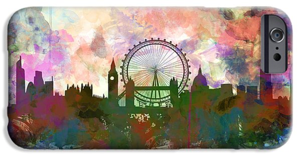 London Skyline Watercolor IPhone 6s Case