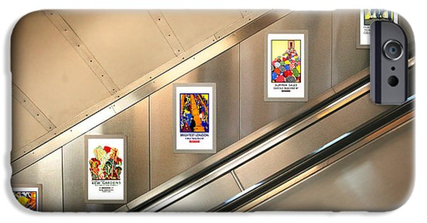 London Underground Poster Collection IPhone 6s Case by Mark Rogan