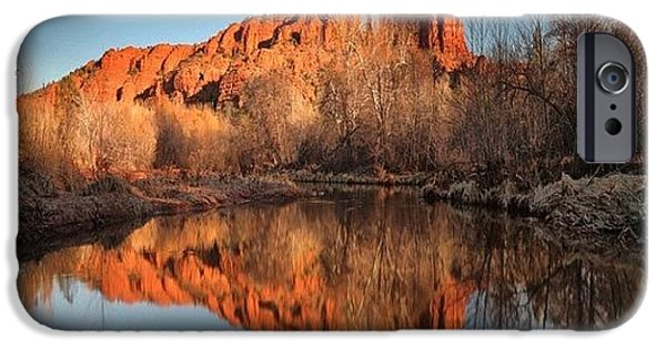 iPhone 6s Case - Long Exposure Photo Of Sedona by Larry Marshall