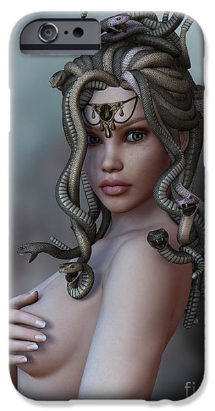 Gorgon iPhone 6s Case - Look Deep Within by Alexander Butler