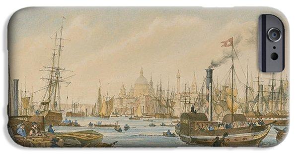 Looking Towards London Bridge IPhone 6s Case by William Parrot
