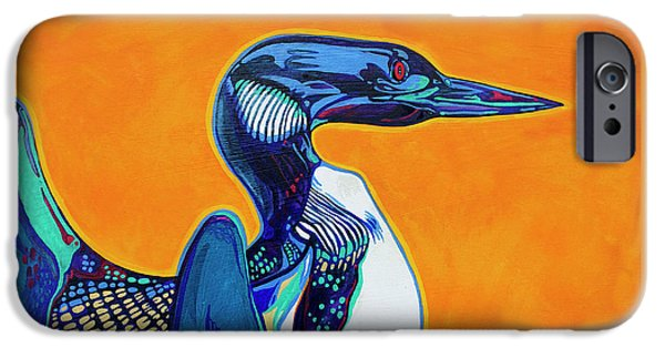 Loon iPhone 6s Case - Loon by Derrick Higgins