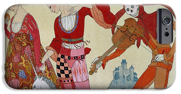 Swallow iPhone 6s Case - Love Desire And Death by Georges Barbier