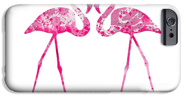 Love Flamingos IPhone 6s Case