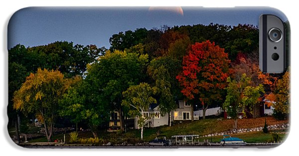 Lunar Eclipse Over Pewaukee Lake IPhone 6s Case