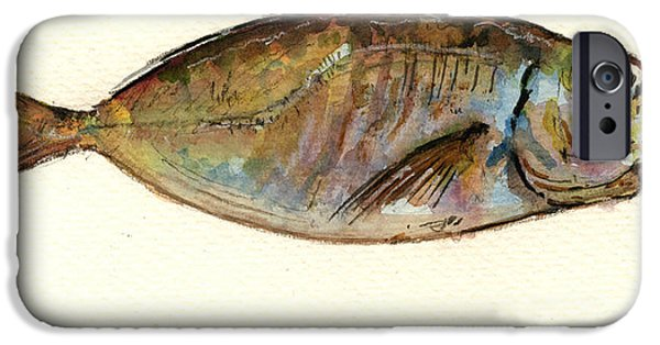 Mackerel Scad IPhone 6s Case by Juan  Bosco