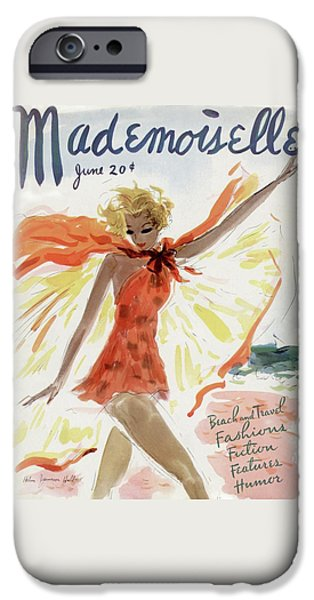 Mademoiselle Cover Featuring A Model At The Beach IPhone 6s Case