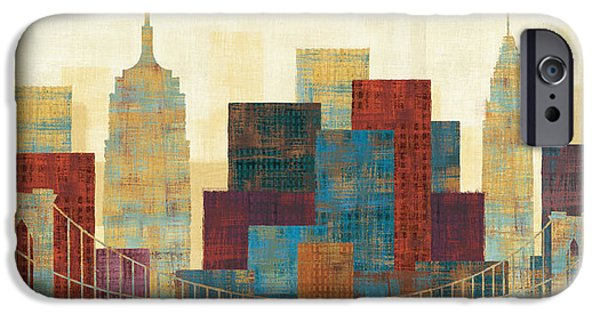 New York City Skyline iPhone 6s Case - Majestic City by Michael Mullan