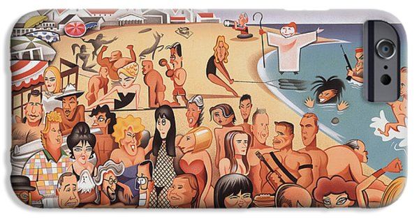 Malibu Beach IPhone 6s Case by Robert Risko