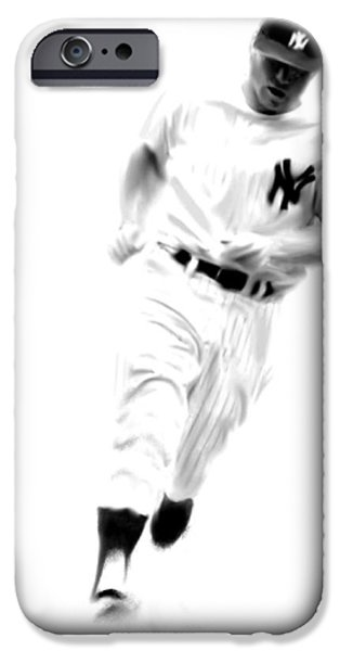 Mantles Gate  Mickey Mantle IPhone 6s Case by Iconic Images Art Gallery David Pucciarelli