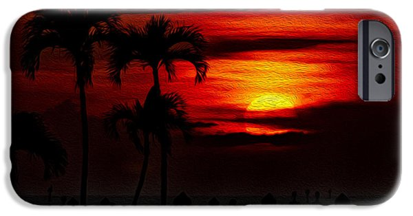 Marco Island Sunset 59 IPhone 6s Case by Mark Myhaver