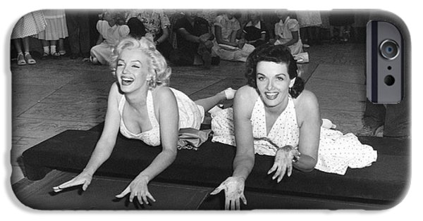 Marilyn Monroe And Jane Russell IPhone 6s Case