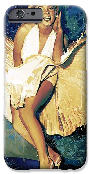 Marilyn Monroe Artwork 4 IPhone 6s Case