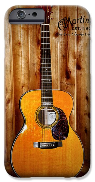 Martin Guitar - The Eric Clapton Limited Edition IPhone 6s Case by Bill Cannon