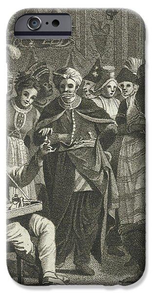 Masquerade, Lambertus Antonius Claessens IPhone 6s Case by Lambertus Antonius Claessens