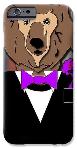 Bear iPhone 6s Case - Max Bear by Marvin Blaine
