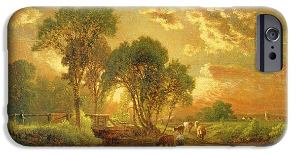 Rural Scenes iPhone 6s Case - Medfield Massachusetts by Inness