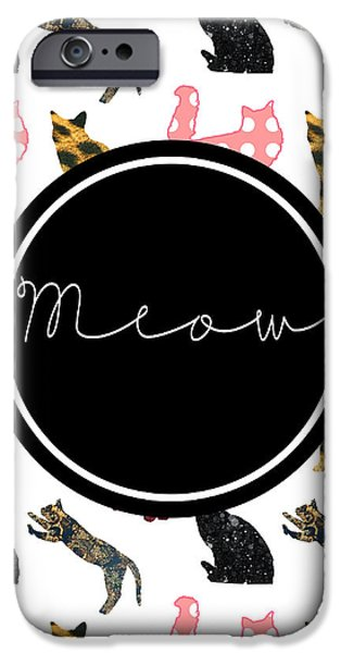 Cat iPhone 6s Case - Meow by Pati Photography