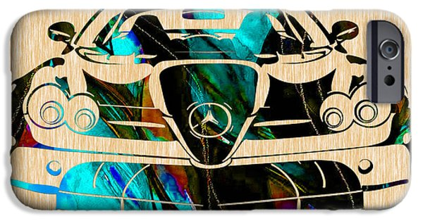 Mercedes Painting IPhone 6s Case by Marvin Blaine