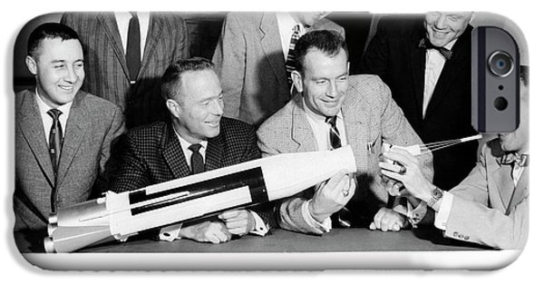 Mercury Seven Astronauts IPhone 6s Case by Nasa